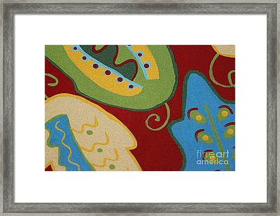 My Wild Leaves Framed Print by Marilyn West