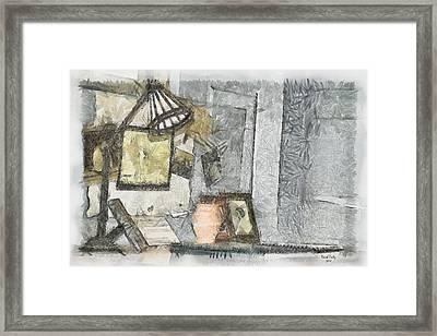 My World Framed Print