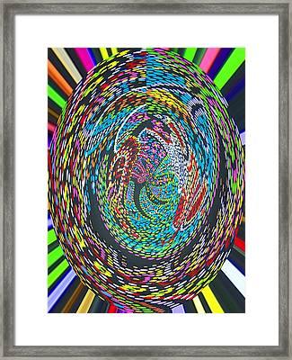 My World Framed Print by Vijay Sharon Govender