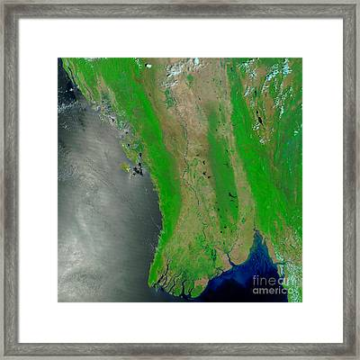 Myanmar, April 15, 2008 Framed Print
