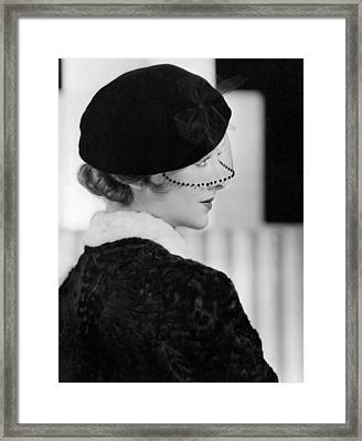 Myrna Loy, Mgm Photo By Clarence Framed Print