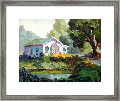 Myrtle Creek Framed Print