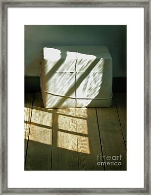Mysterious Package Framed Print