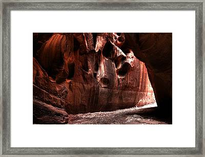 Mysterious Passage Framed Print