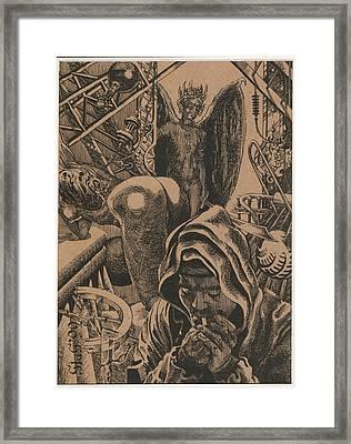 Mysterious Plot Framed Print by Sirenko