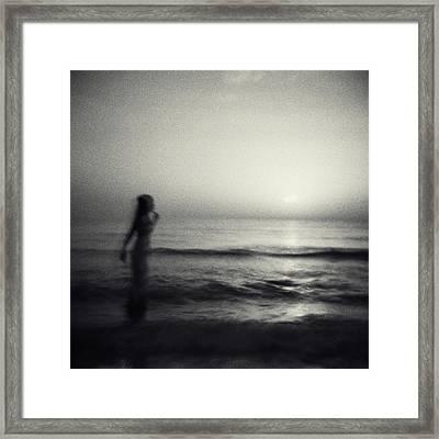 Mystery Dream Framed Print by Oksana Art