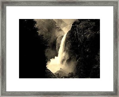 Mystery Falls Framed Print