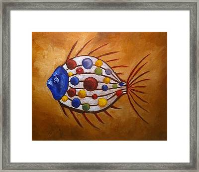 Mystery Fish Framed Print