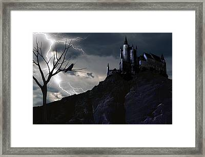 Mystery On The Hill Framed Print
