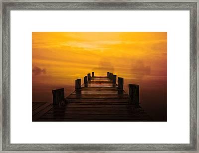 Mystic Dawning Framed Print by Kim Shatwell-Irishphotographer