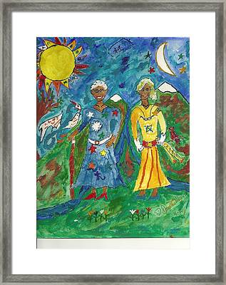 Mystic Hope Framed Print