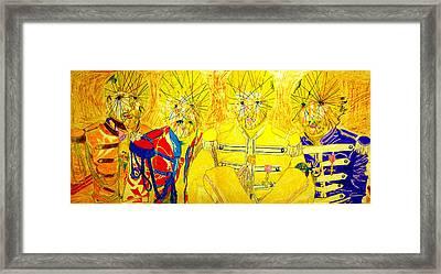 Mystic L Beat L Framed Print by John Battles
