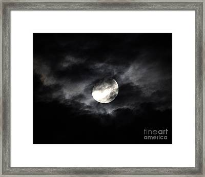 Mystic Moon Framed Print by Al Powell Photography USA