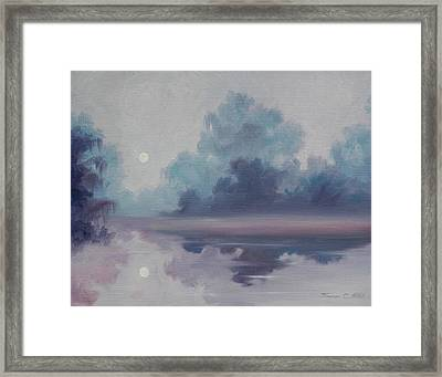 Mystic Moonlight Framed Print by James Christopher Hill