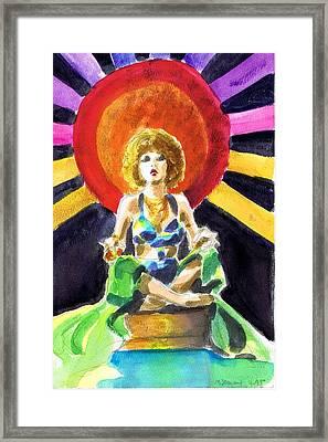 Mystic Vamp Framed Print
