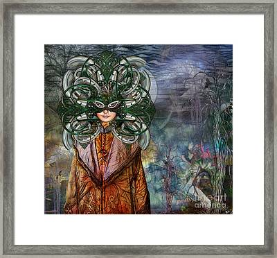 Framed Print featuring the digital art Mystical Adventures II by Rhonda Strickland