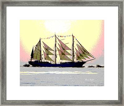 Mystical Voyage Framed Print