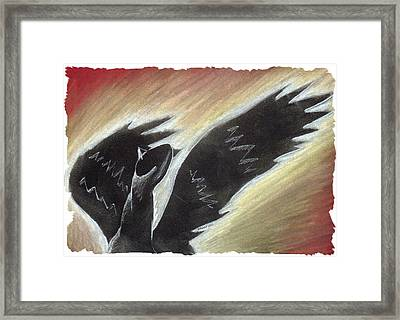 Myth Takes Flight Framed Print