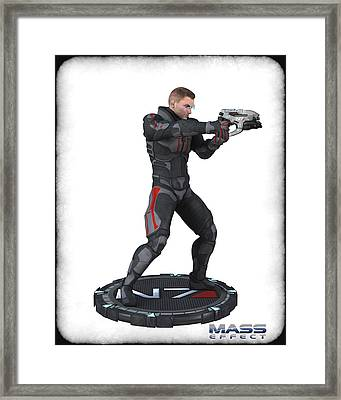 N7 Soldier V3 Framed Print by Frederico Borges