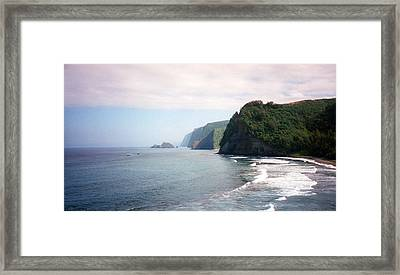 Framed Print featuring the photograph Na Pali Coast by C Sitton