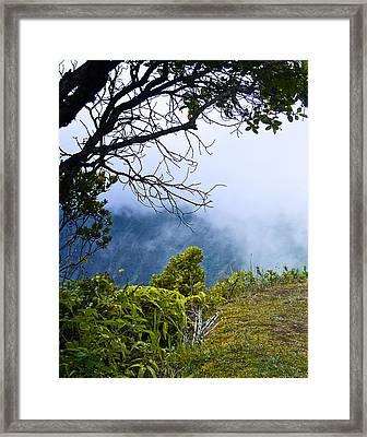 Na Pali Coast Hawaii 09 Framed Print