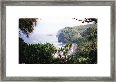 Framed Print featuring the photograph Na Pali Hike by C Sitton