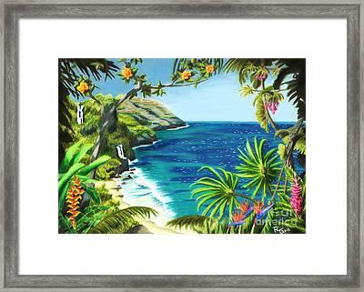 Na Pali Framed Print