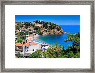 Nagos Beach  Framed Print
