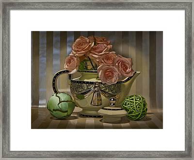 Naimark Teapot Framed Print