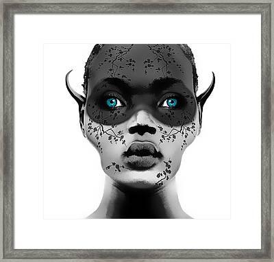 Naive Framed Print by Yosi Cupano