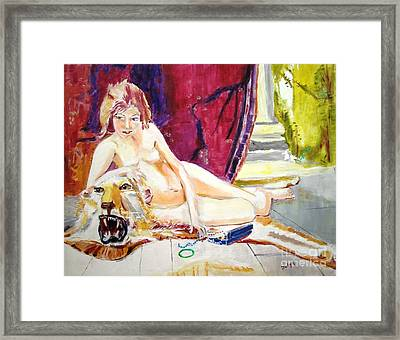 Naked Truth Framed Print