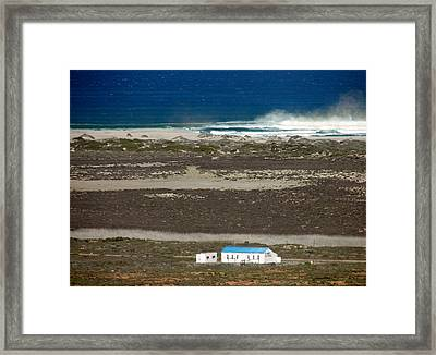 Framed Print featuring the photograph Namaqualand Farm by Werner Lehmann