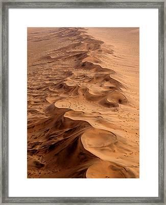 Namibia Aerial Framed Print