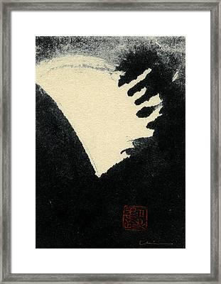 Namu - Hail Framed Print by Chisho Maas