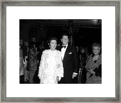 Nancy Reagan, Ronald Reagan, 1976 Framed Print by Everett