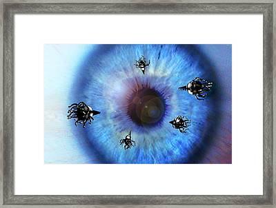 Nanorobots Framed Print by Take 27 Ltd