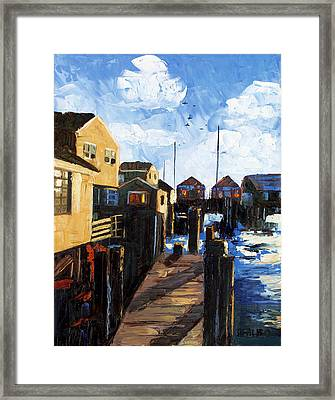 Nantucket Framed Print by Anthony Falbo