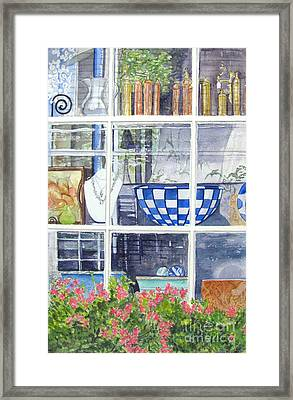 Nantucket Shop-lecherche Midi Framed Print
