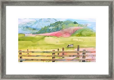 Napa Valley Framed Print by Robert Hooper