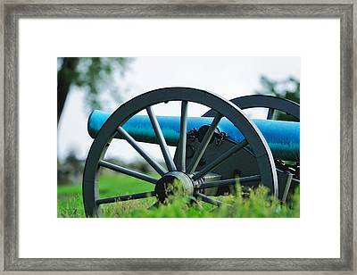 Napolean 12 Pounder Cannon Framed Print