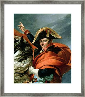 Napoleon Crossing The Alps On 20th May 1800 Framed Print