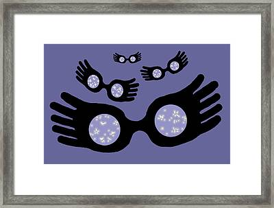 Nargles About Framed Print