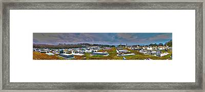 Narooma Cemetery Framed Print by Joanne Kocwin