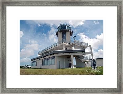Nasa Air Traffic Control Tower Framed Print by Nasa