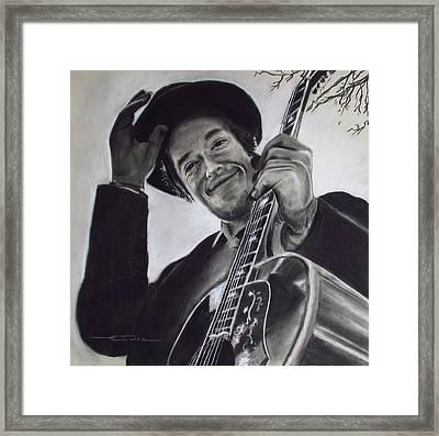 Nashville Skyline - Dylan Framed Print