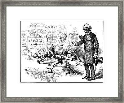 Nast: Tilden Cartoon, 1876 Framed Print by Granger