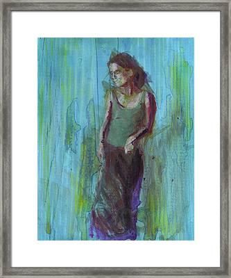 Natalie Framed Print by Eric Atkisson