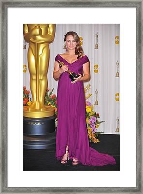 Natalie Portman, Best Performance By An Framed Print