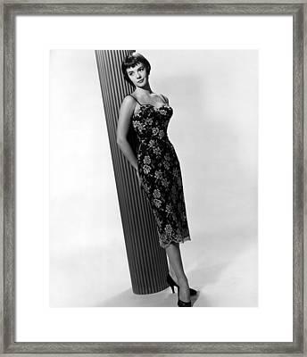 Natalie Wood, Warner Brothers, 1956 Framed Print by Everett