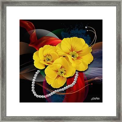 Natalys Flower Framed Print by Satish Verma